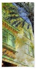 The Adrian Hotel South Beach Beach Sheet by Jon Neidert