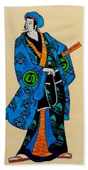The Age Of The Samurai 03 Beach Towel by Dora Hathazi Mendes