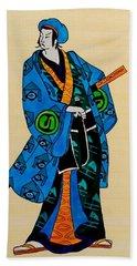 The Age Of The Samurai 03 Beach Sheet