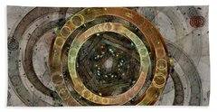 The Almagest - Homage To Ptolemy - Fractal Art Beach Towel