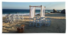 The Alter By The Sea Beach Towel