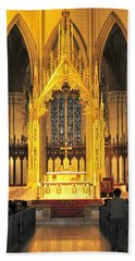 Beach Towel featuring the photograph The Alter by Diana Angstadt