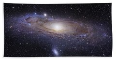 The Andromeda Galaxy Beach Towel