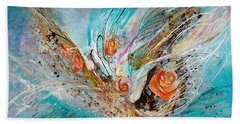 The Angel Wings #10. The Five Roses Beach Towel