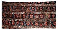 The Angels Of Debre Birhan Selassie Church Beach Towel