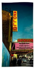 The Apollo Theater Beach Towel by Ben Lieberman