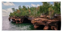 The Apostle Islands Beach Towel