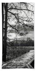 Beach Towel featuring the photograph The Appalachian Trail by Eduard Moldoveanu
