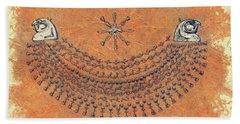 The Art Of Ancient Egypt Beach Towel
