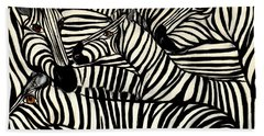 The Art Of Concealment Beach Towel by Lisa Aerts