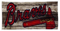 The Atlanta Braves 3h    Beach Towel