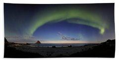 The Aurora Bow Beach Towel