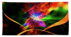 Beach Towel featuring the photograph The Awakening by Geraldine DeBoer