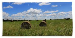 The Bales Of Summer Beach Towel