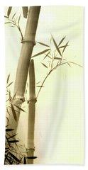 The Bamboo Branch Beach Towel