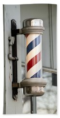 The Barber Shop 4 Beach Towel