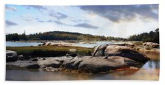 The Basin, Vinalhaven, Maine Beach Towel