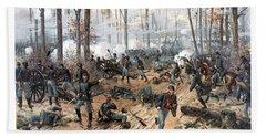 The Battle Of Shiloh Beach Towel