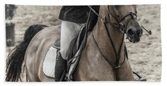 The Bay Show Jumping Beach Towel