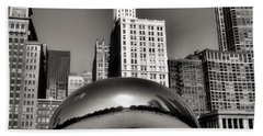 The Bean - 3 Beach Towel by Ely Arsha