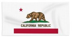 The Bear Flag - State Of California Beach Towel