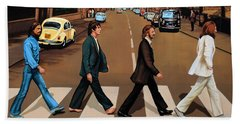 The Beatles Abbey Road Beach Towel