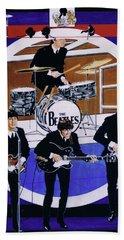 The Beatles - Live On The Ed Sullivan Show Beach Sheet