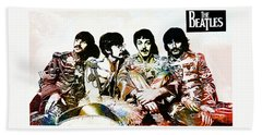 The Beatles--sargent Peppers Lonely Hearts Club Band Beach Towel