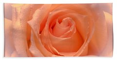 The  Beauty Of A Rose  Copyright Mary Lee Parker 17,  Beach Sheet by MaryLee Parker