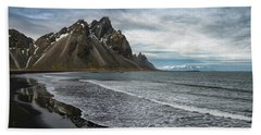 Beach Towel featuring the photograph The Beauty Of Iceland by Sandra Bronstein