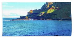 Beach Towel featuring the photograph The Beauty Of Northern Irelandd by Alan Lakin