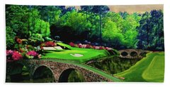 The Beauty Of The Masters Beach Towel by Ron Chambers