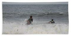 The Best Surfer Beach Towel