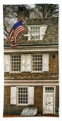 The Betsy Ross House Beach Towel