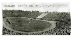 Stanford And U Of C 1925 Beach Towel