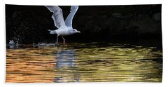 The Birds Of Autumn No. 1 Beach Towel