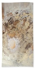 The Birth Of Universe Abstract Beach Sheet