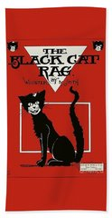 The Black Cat Rag 1905 Sheet Music Art Beach Sheet