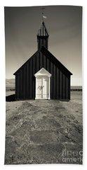 Beach Sheet featuring the photograph The Black Church by Edward Fielding