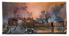 The Black Country Village Beach Towel