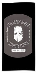 The Black Knight Beach Towel