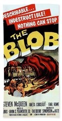 The Blob  Beach Towel by Movie Poster Prints
