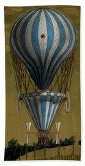 The Blue Balloon Beach Sheet