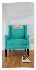 The Blue Chair Beach Sheet
