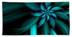 The Blue Dahlia Reprise Beach Towel