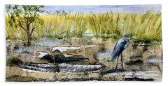 The Blue Egret Beach Sheet