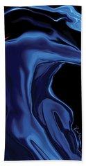 Beach Sheet featuring the digital art The Blue Kiss by Rabi Khan