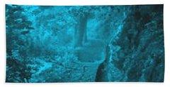 The Blue Path Beach Towel