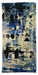 The Blues Abstract Beach Towel