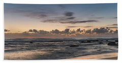 The Blues - Sunrise Seascape  Beach Sheet